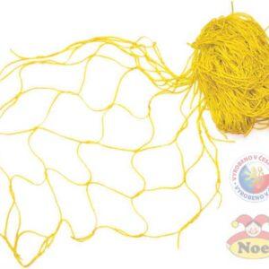 NOE Siť dekorační Žlutá na aranžování 5x1m na zavěšování hraček