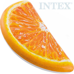 INTEX Lehátko nafukovací 178x85cm plátek pomeranče do vody