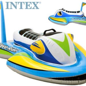 INTEX Nafukovací vozítko 117x77cm skútr dětské plavidlo do vody 57520