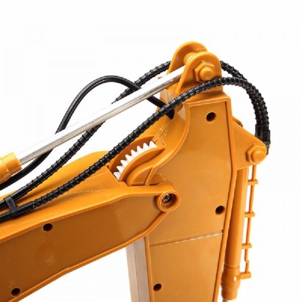 HN550 1/12 - Supersilný bagr s kovovou lžící 15 kanálů !!!