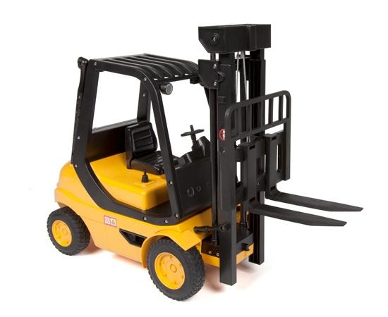 Vysokozdvižný vozík 1/8 na dálkové ovládání - ještěrka