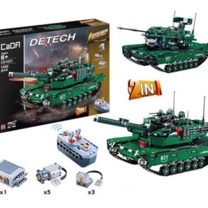 Tank – obří stavebnice - 1498 dílů