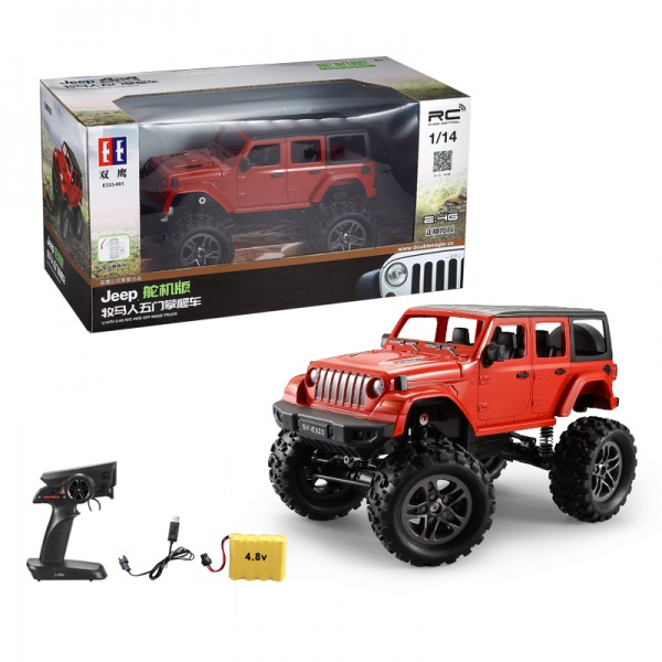 RC Crawler Jeep Wrangler Pickup 1:14 2