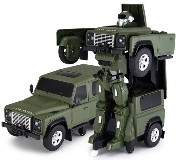 Land Rover Transformer 1:14 2.4GHz RTR - zelený