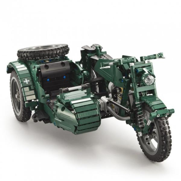 RC motorka se sajtnou - CADA bricks (629 dílků)