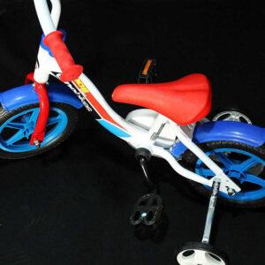 """ACRA Dětské kolo Dino Bikes CSK5101 modré chlapecké 10"""" balanční kolečka"""