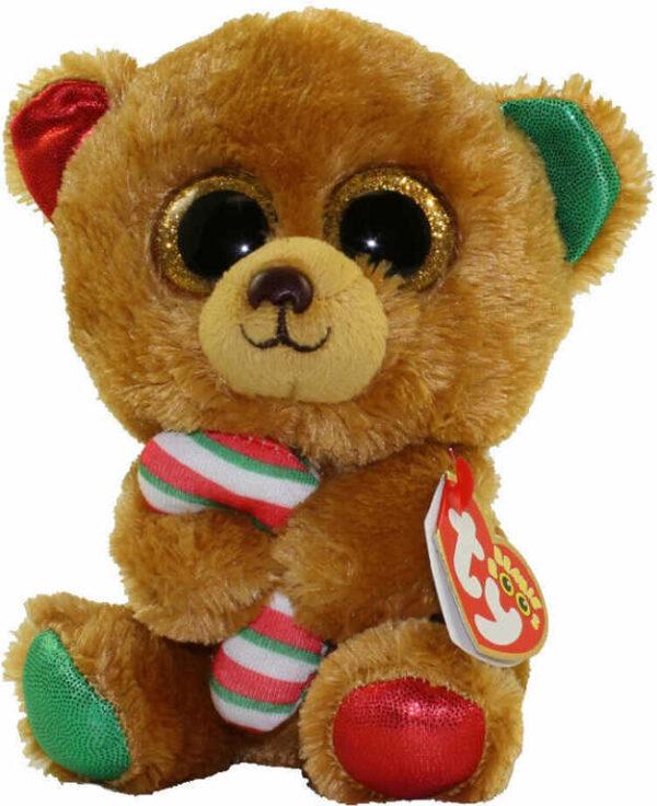 PLYŠ Beanie Boos Bella Medvídek velké oči 24cm *PLYŠOVÉ HRAČKY*