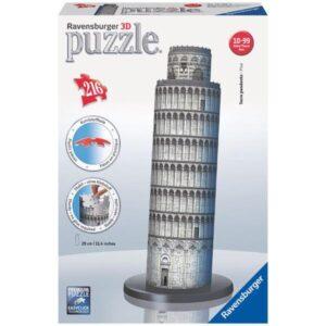 RAVENSBURGER Puzzle 3D Puzzle Šikmá věž v Pise