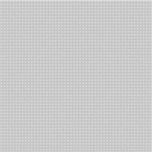 SLUBAN Deska základní šedá 40x40cm doplněk ke stavebnicím plast