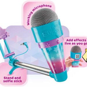 ADC Mikrofon na selfie tyči Tube Superstar set na tvorbu Youtube videí a Vlogů