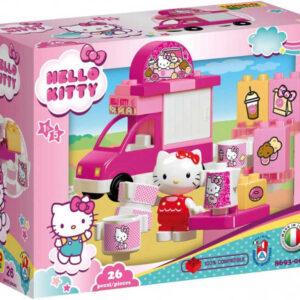 ANDRONI Unico baby Hello Kitty Zmrzlinový vůz 26 dílků STAVEBNICE