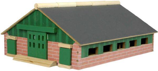 DŘEVO Farma model 1:87 domeček pro zvířátka *DŘEVĚNÉ HRAČKY*