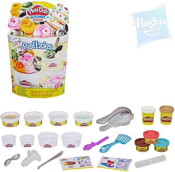 HASBRO PLAY-DOH Rolované zmrzliny kreativní set modelína s nástroji