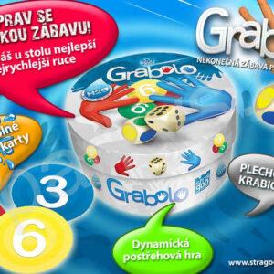 BONAPARTE Hra Grabolo (voděodolné karty H2O) *SPOLEČENSKÉ HRY*