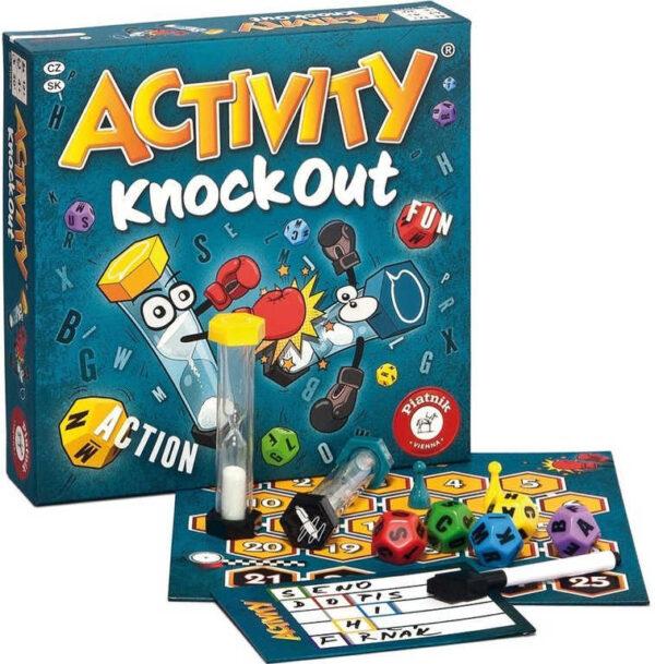 PIATNIK Hra ACTIVITY Knock Out *SPOLEČENSKÉ HRY*