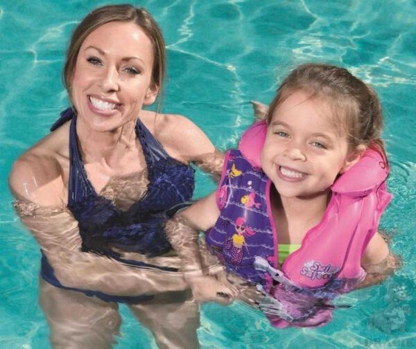 BESTWAY Swim Safe nafukovací vesta pro děti 3-6let do vody 2 druhy 32156