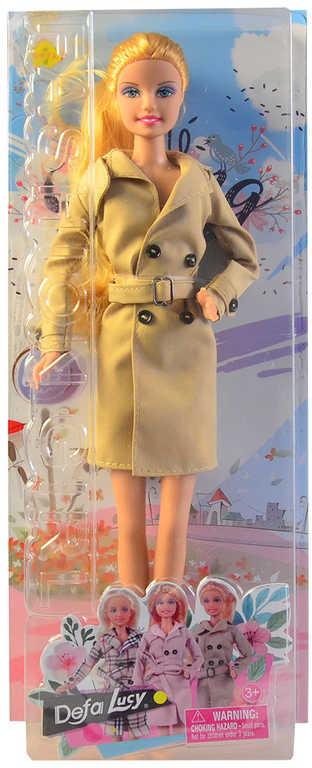 Defa Lucy panenka 30cm v kabátě trendy obleček různé druhy