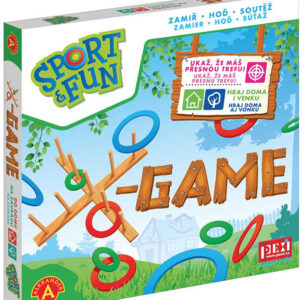 ALEXANDER Hra Sport and fun X-Game *SPOLEČENSKÉ HRY*
