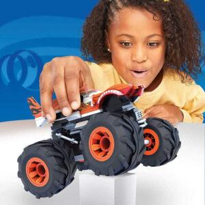 MEGA CONSTRUX Auto Monster Truck set s figurkou 2 druhy STAVEBNICE