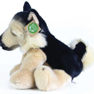 PLYŠ Pes německý ovčák sedící 30cm Eco-Friendly *PLYŠOVÉ HRAČKY*