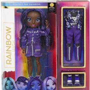 RAINBOW HIGH Fashion Krystal Bailey módní panenka set s oblečky a doplňky