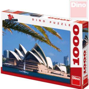 DINO Puzzle Opera v Sydney XL 66x47cm 1000 dílků v krabici