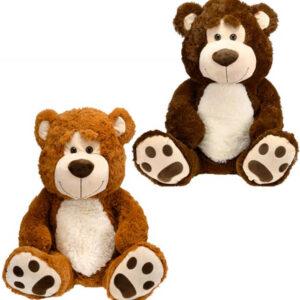 PLYŠ Medvěd 67cm sedící různé barvy *PLYŠOVÉ HRAČKY*
