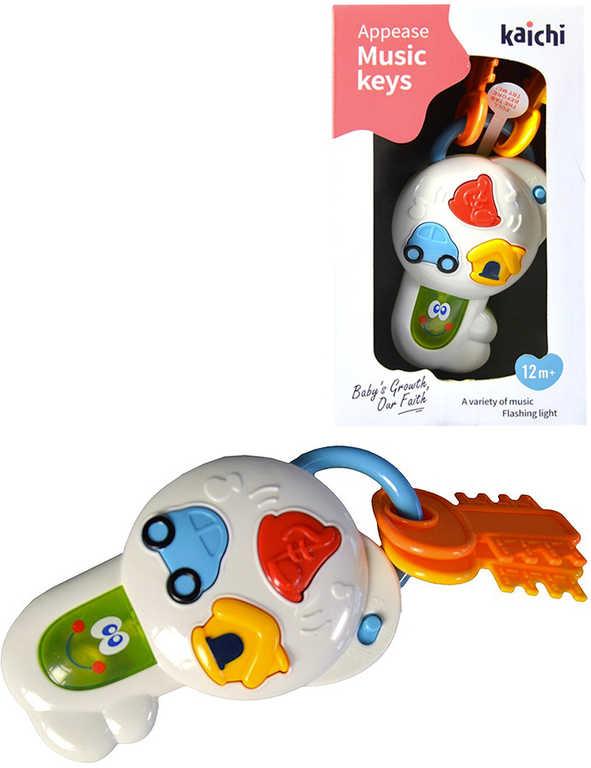 Baby klíče na baterie Světlo Zvuk pro miminko