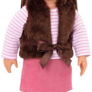 Our Generation panenka Sienna 46cm kloubová tmavé vlasy v krabici
