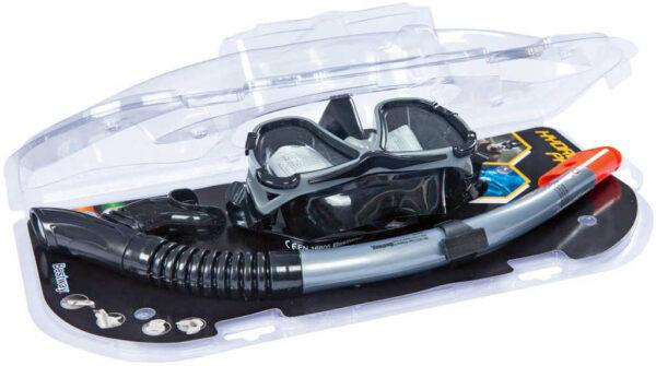 BESTWAY Set brýle potapěčské + šnorchl v pouzdře do vody 24021