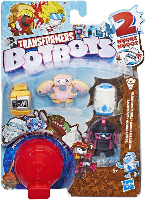 HASBRO TRANSFORMERS BotBots robot s trasformací set 5ks s překvapením