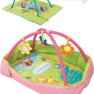 SMOBY Baby dečka s hrazdou Cotoons set s doplňky 2 barvy pro miminko