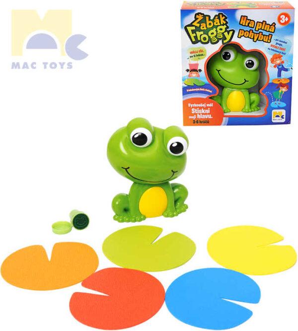 MAC TOYS Hra pohybová Žabák Froggy na baterie *SPOLEČENSKÉ HRY*