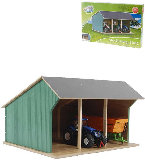 DŘEVO Farma stodola 45x28x22cm odklápěcí střecha *DŘEVĚNÉ HRAČKY*