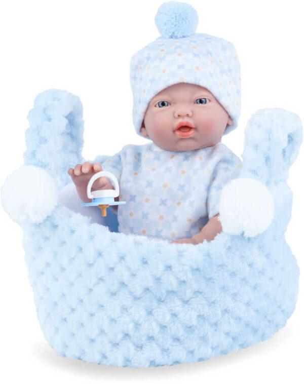 MARINA and PAU Panenka miminko vonící 21cm chlapeček ruční výroba plast