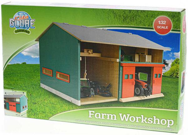 DŘEVO Farma stodola s dílnou 41x54x32cm *DŘEVĚNÉ HRAČKY*