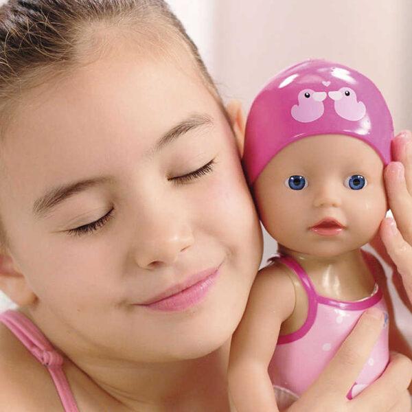 ZAPF BABY BORN Můj první plaváček 30cm panenka plave ve vodě na natažení
