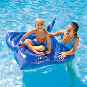 INTEX Rejnok nafukovací s úchyty 188x145cm dětské vozítko do vody 57550