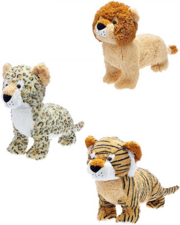 PLYŠ Zvířátko safari 50cm různé druhy *PLYŠOVÉ HRAČKY*