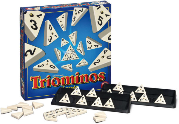 PIATNIK Hra Triominos domino *SPOLEČENSKÉ HRY*