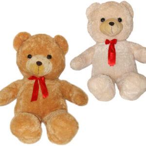 PLYŠ Medvěd velký s mašlí 105cm 2 barvy *PLYŠOVÉ HRAČKY*