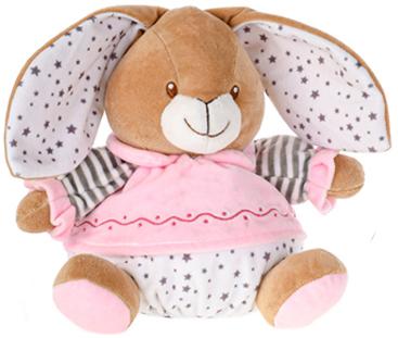 PLYŠ Baby králíček chrastící miminko 16cm 2 barvy *PLYŠOVÉ HRAČKY*