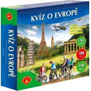 ALEXANDER Hra Kvíz o Evropě v krabici *SPOLEČENSKÉ HRY*