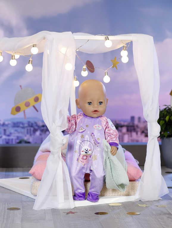 ZAPF BABY BORN Pyžámko a bačkůrky pro panenku miminko set s ramínkem