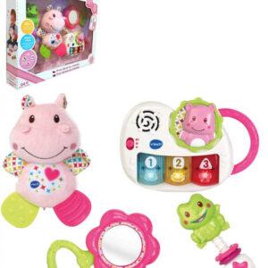 Vtech Baby První dárek pro miminko set 4 hračky holčičí na baterie Světlo Zvuk