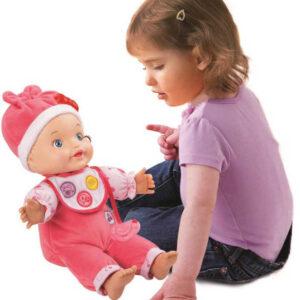 Vtech Little love panenka interaktivní miminko set s doplňky na baterie Zvuk CZ