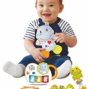 Vtech Baby První dárek pro miminko set 4 hračky klučičí na baterie Světlo Zvuk
